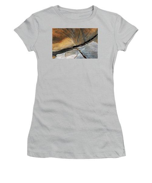 Women's T-Shirt (Junior Cut) featuring the photograph A Dead Tree by Dorin Adrian Berbier