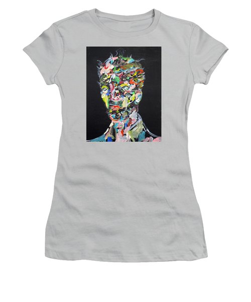 Women's T-Shirt (Junior Cut) featuring the painting A Life Full Of Oppurtunities by Fabrizio Cassetta