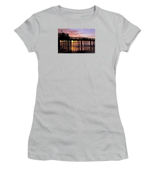 A Quiet And Beautiful Start Women's T-Shirt (Junior Cut) by Lora Lee Chapman