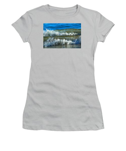 A Race For Non-existence, Point Reyes National Seashore, Marin C Women's T-Shirt (Junior Cut) by Wernher Krutein