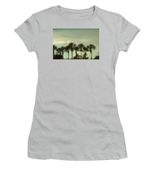 A Rainy Day Women's T-Shirt (Junior Cut) by Christopher L Thomley