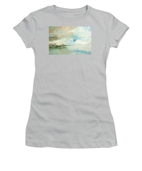 Above It All Women's T-Shirt (Junior Cut) by Dina Dargo