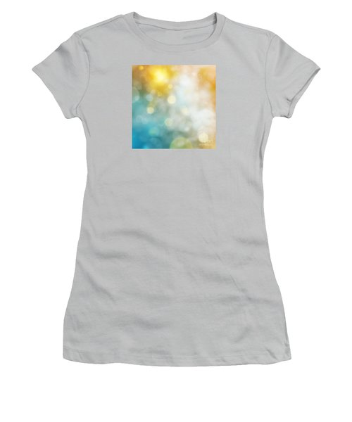 Abstract Bokeh Women's T-Shirt (Athletic Fit)