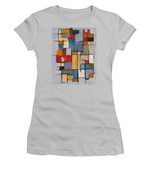 Abstract Line Series  Women's T-Shirt (Junior Cut) by Patricia Cleasby