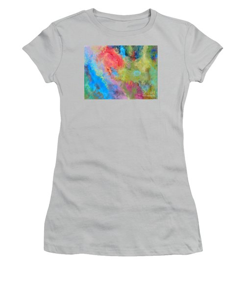 Abstract Women's T-Shirt (Junior Cut) by Reina Resto