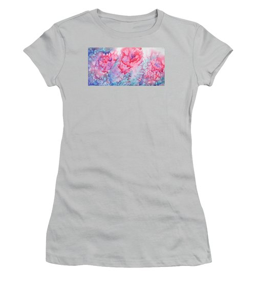Abstract Roses Women's T-Shirt (Athletic Fit)