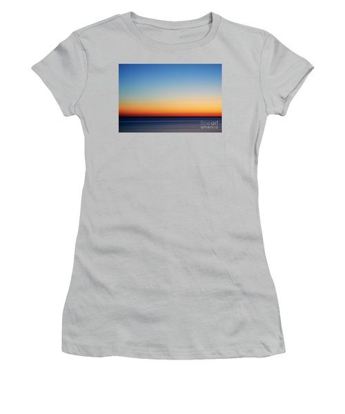 Abstract Sky Women's T-Shirt (Athletic Fit)