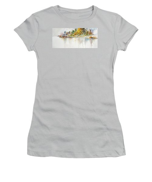 Across The Pond Women's T-Shirt (Athletic Fit)