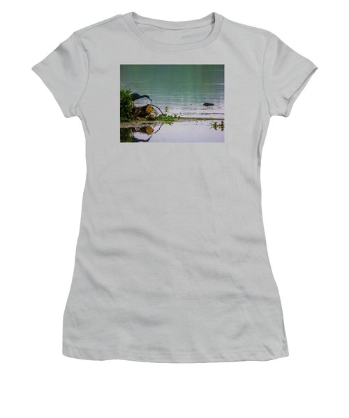 Ah Dubble-dawg Dare Ya Women's T-Shirt (Athletic Fit)