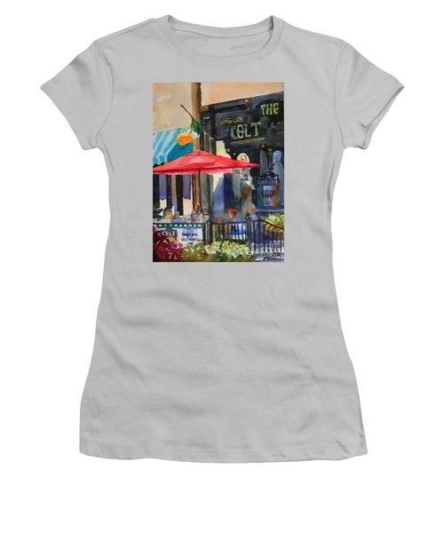 Al Fresco At The Celt Women's T-Shirt (Junior Cut)