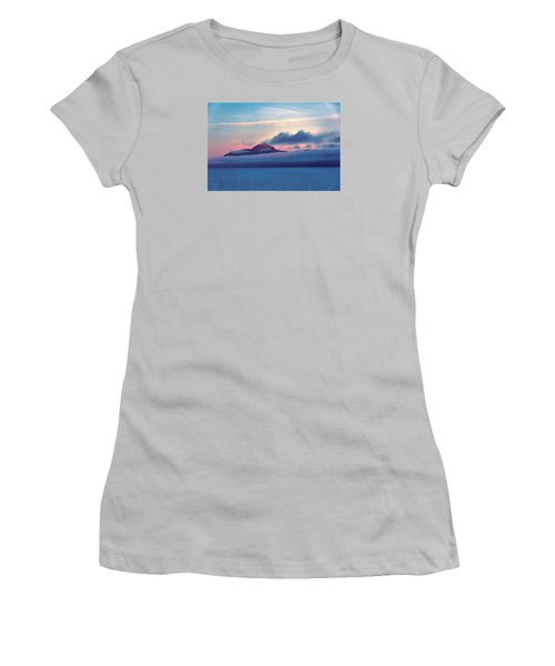 Alaska Dawn Women's T-Shirt (Junior Cut) by Lewis Mann