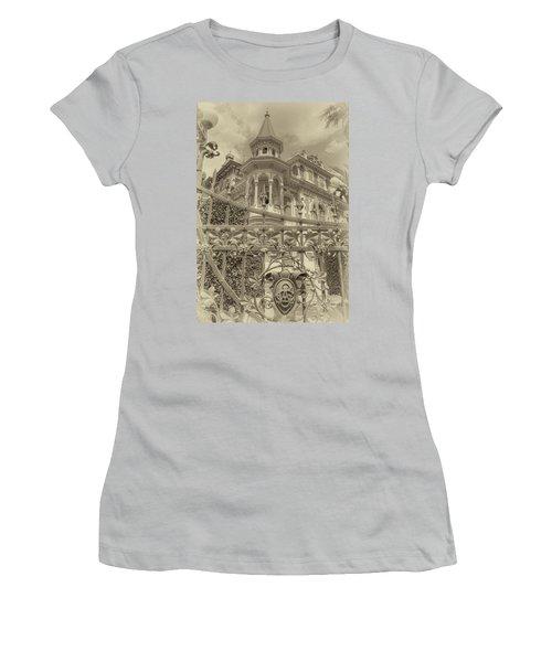 Albert Chamas Villa Women's T-Shirt (Athletic Fit)