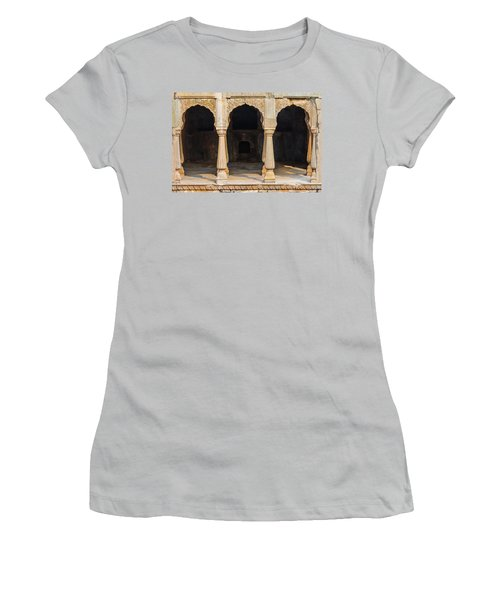 Alcoves At Chand Baori Stepwell Women's T-Shirt (Athletic Fit)