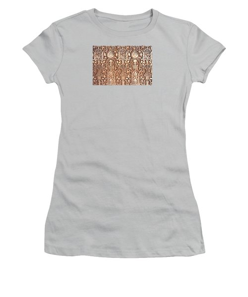 Alhambra Wall Section Women's T-Shirt (Athletic Fit)