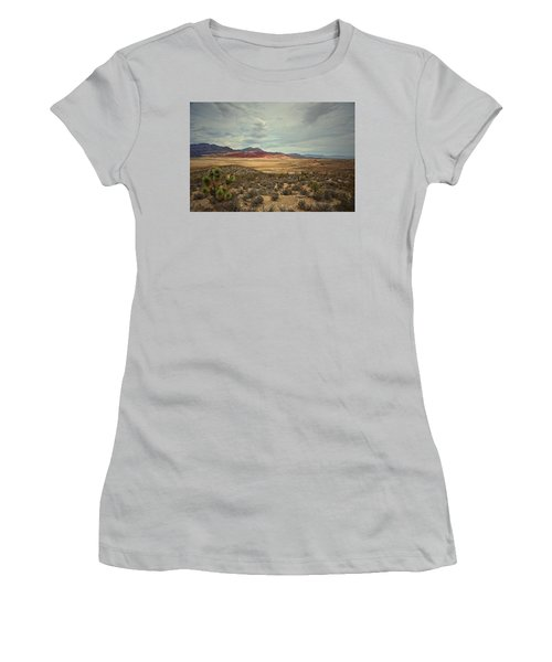 Women's T-Shirt (Junior Cut) featuring the photograph All Day by Mark Ross