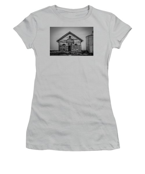 Women's T-Shirt (Junior Cut) featuring the photograph Allens Grove by Ray Congrove
