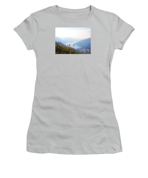 Alpine Flora On Top Of Schynige Platte Women's T-Shirt (Athletic Fit)