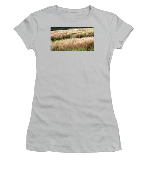 Amber Waves -  Women's T-Shirt (Athletic Fit)