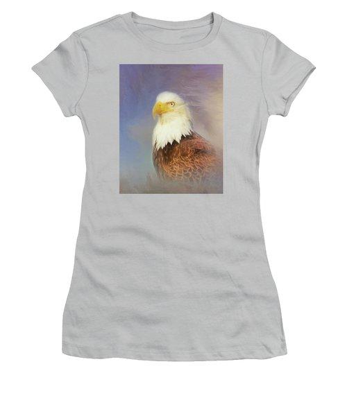 American Eagle Women's T-Shirt (Junior Cut) by Steven Richardson