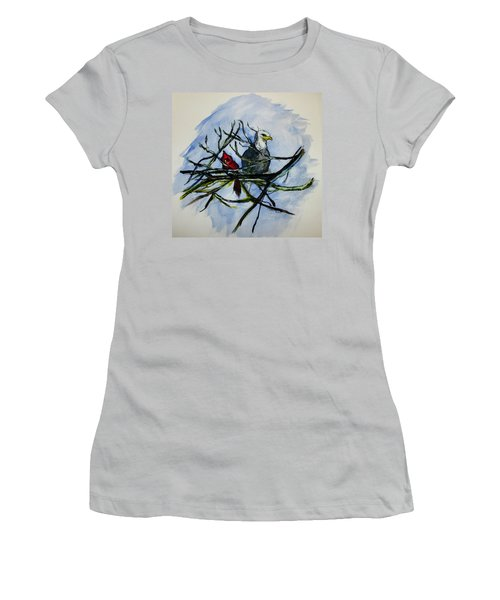 American Picture Women's T-Shirt (Junior Cut) by Clyde J Kell