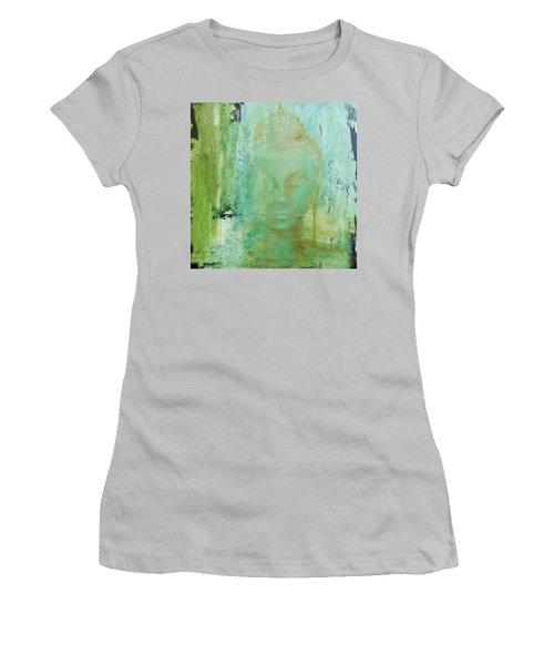 Ancient Buddha Women's T-Shirt (Junior Cut) by Dina Dargo