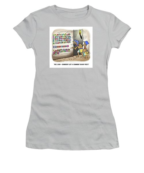 Ancient Egyptian Blog Women's T-Shirt (Athletic Fit)