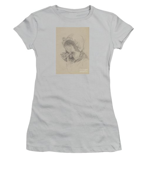 Angry Women's T-Shirt (Junior Cut) by Annemeet Hasidi- van der Leij
