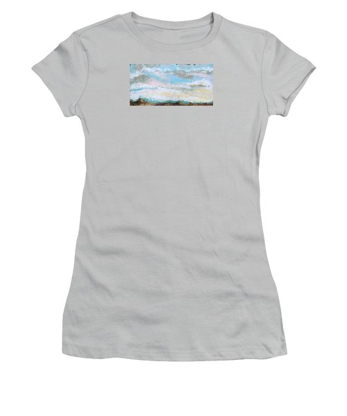 Another Kiss Women's T-Shirt (Junior Cut) by Nathan Rhoads