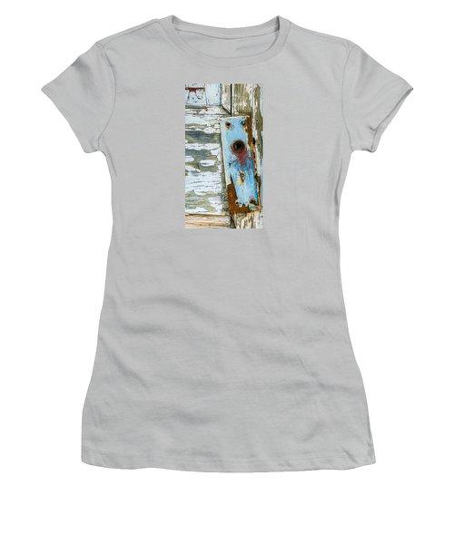 Antique Door Knob Face Plate Women's T-Shirt (Athletic Fit)