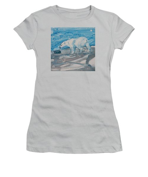 Anybody Home? Women's T-Shirt (Junior Cut) by Ruth Kamenev