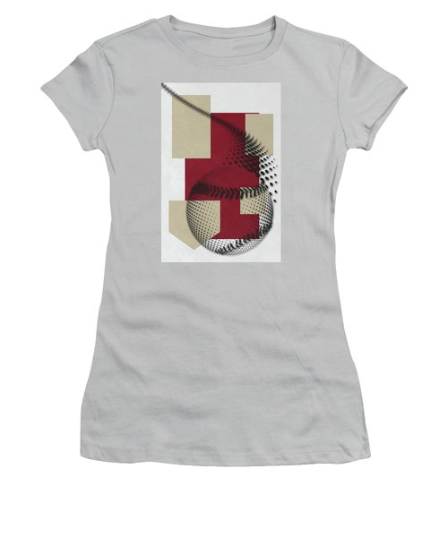 Arizona Diamondbacks Art Women's T-Shirt (Athletic Fit)