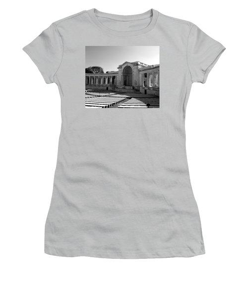 Arlington Memorial Amphitheater Women's T-Shirt (Athletic Fit)
