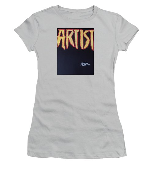 Artist 2009 Movie Women's T-Shirt (Junior Cut) by Joshua Maddison