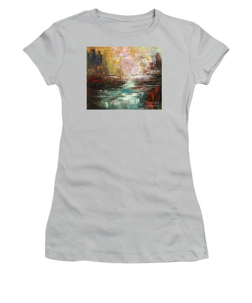 Artist Whitewater Women's T-Shirt (Athletic Fit)