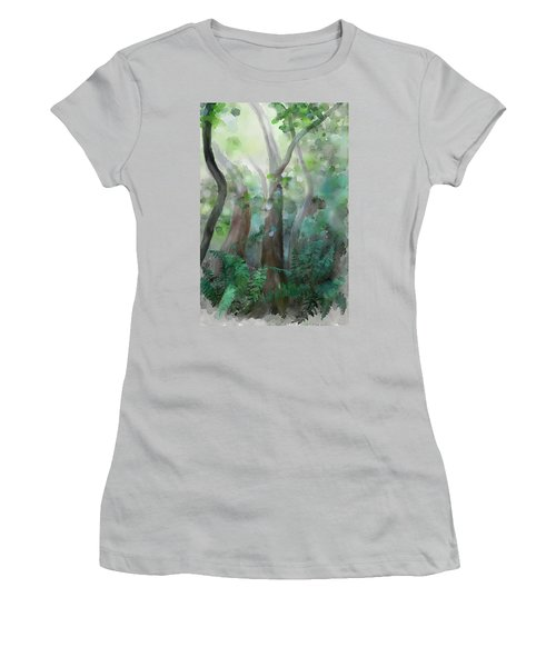 Jungle Women's T-Shirt (Junior Cut) by Ivana Westin