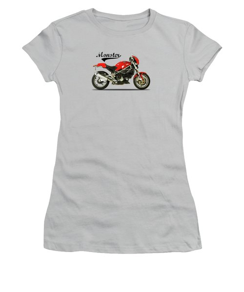 Ducati Monster S4 Sps Women's T-Shirt (Athletic Fit)