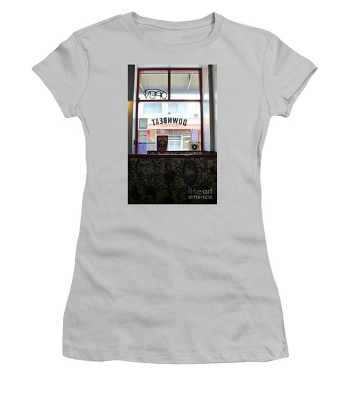 Women's T-Shirt (Junior Cut) featuring the photograph At Lunch by Craig Wood