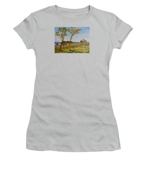At Ruby's Bulli Women's T-Shirt (Junior Cut) by Pamela  Meredith