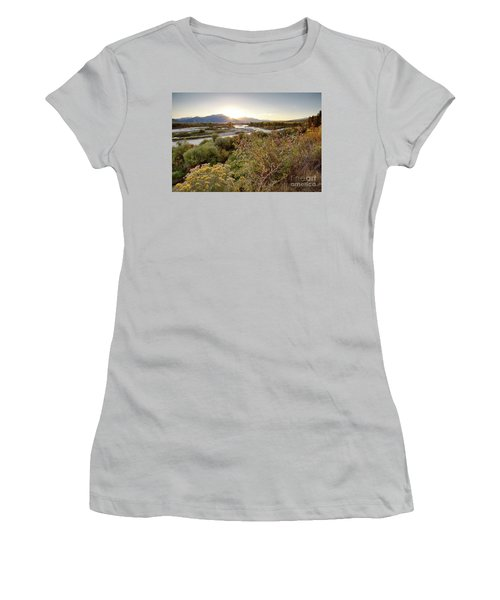 Autumn On The South Fork Women's T-Shirt (Athletic Fit)