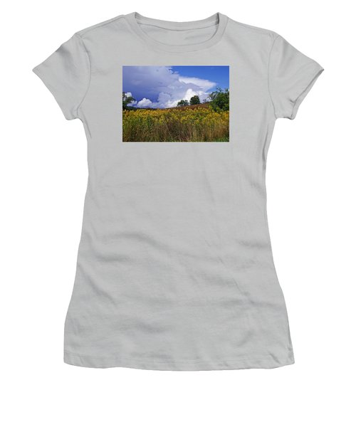 Autumn Skies Women's T-Shirt (Athletic Fit)