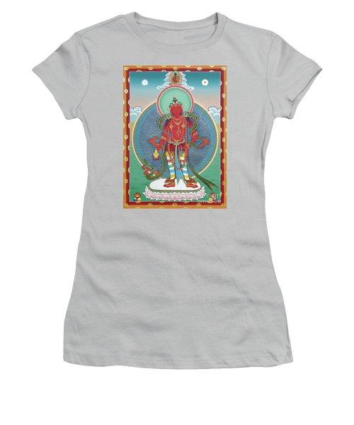 Avalokiteshvara Korwa Tongtrug Women's T-Shirt (Athletic Fit)