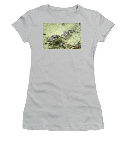 Baby Alligator Women's T-Shirt (Athletic Fit)