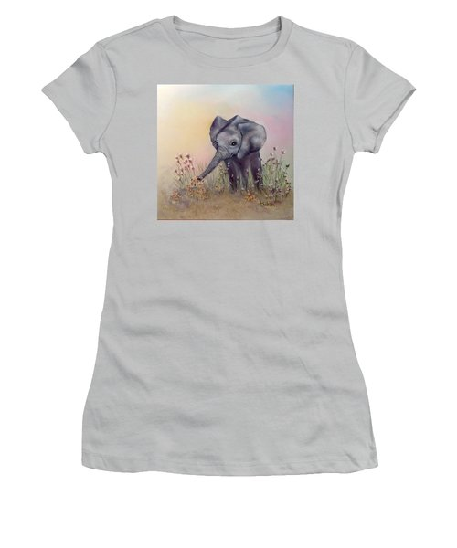 Baby Ellie  Women's T-Shirt (Athletic Fit)