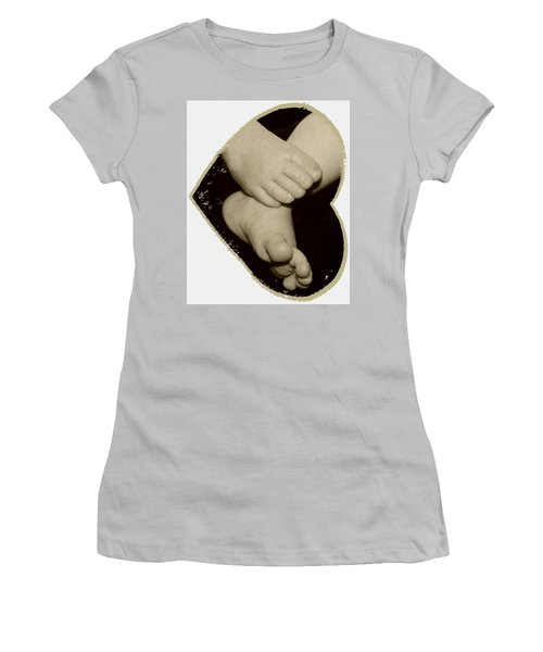 Baby Feet Women's T-Shirt (Athletic Fit)