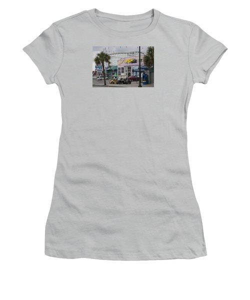 Beach Bums - Myrtle Beach South Carolina Women's T-Shirt (Junior Cut) by Suzanne Gaff