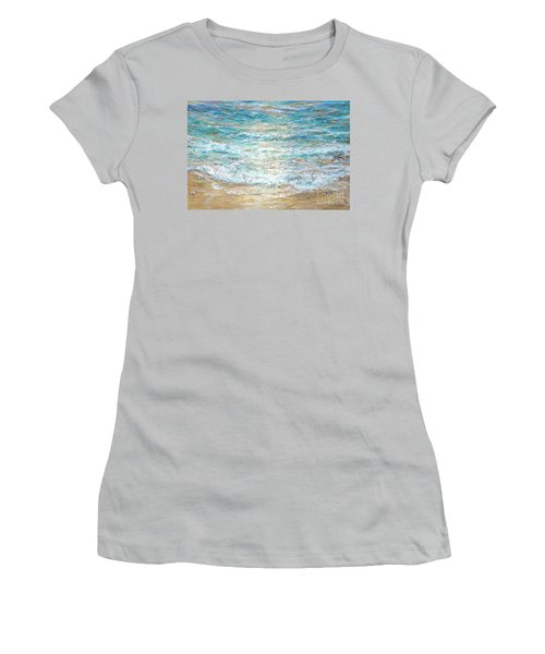 Beach Tide Women's T-Shirt (Athletic Fit)