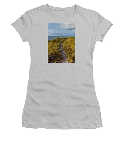 Beaten Path Women's T-Shirt (Athletic Fit)