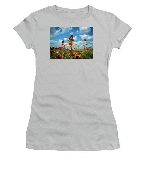 Beautiful Day  Women's T-Shirt (Athletic Fit)