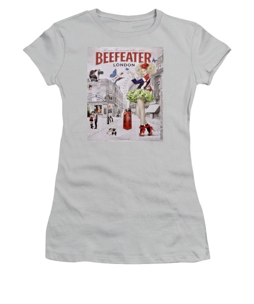 Beefeater Gin Women's T-Shirt (Junior Cut) by Mary Machare