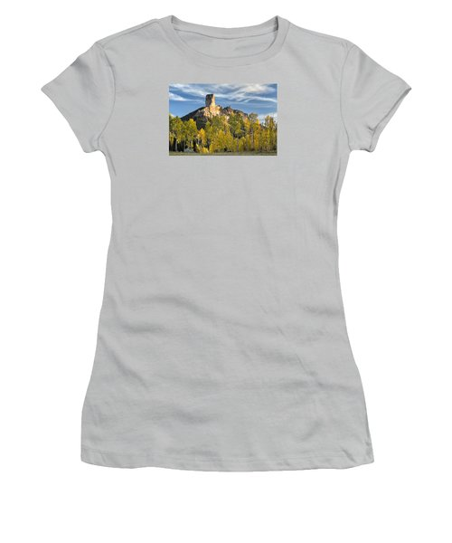 Before Sunset At Chimney Rock Women's T-Shirt (Athletic Fit)
